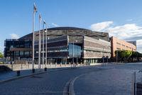 Wales Millennium Centre – Welsh: Canolfan Mileniwm Cymru – Seen from Welsh Parliament – Cardiff