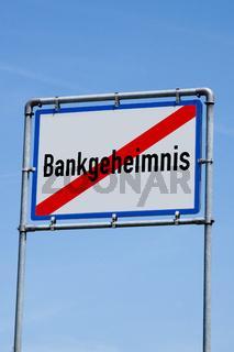 Symbolbild Bankgeheimnis