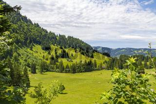 Around Immenstaedter Horn in Bavaria