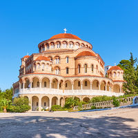 Church of Agios Nektarios in Aegina