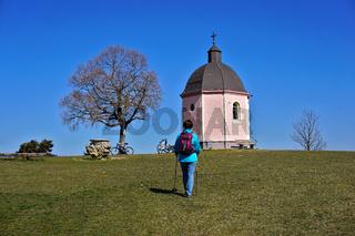 Kapelle Alter Berg bei Böttingen im Landkreis Tuttlingen auf de