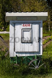 Kassenwagen. Geltinger Bucht. Deutschland