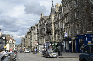 Schottland, Edinburgh, Canongate Street