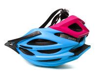 Helmet upended isolated on white