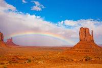 Magnificent rainbow