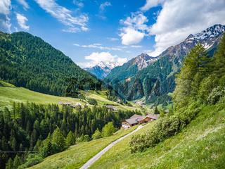 Passeiertal, Südtirol, Italien
