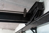 Laufkran in einem historischen Kraftwerk