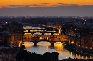 Florenz Bruecke - Florence bridge 13