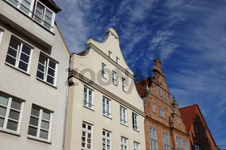 Hausgiebel in der Hansestadt Güstrow