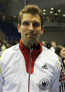 deutscher Handballer Adrian Pfahl DHB-Team u. VfL Gummersbach DKB Handball-Bundesliga Saison 2012-13