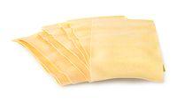 Raw sheets of lasagna
