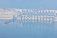 three gorges dam closeup