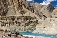 Confluence of Tsarab and Zara rivers