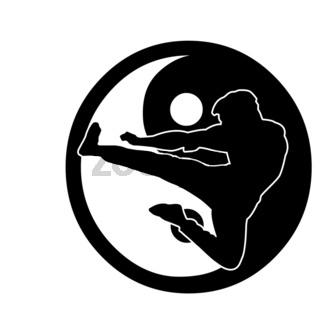 kung fu Logo four