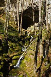 Falkensteiner Höhle mit Elsachquelle, Schwäbische Alb