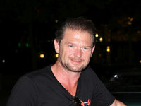 TV-Moderator Det Müller bei Rallye Hamburg-Berlin 2017 in Wolfsburg