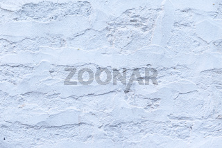 Full frame background of white painted brick wall with copy space