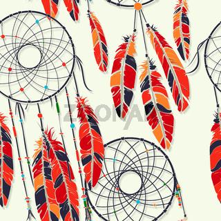 Dreamcatcher fantasy pattern