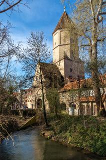 Jakobertor, mittelalterliches Stadttor in Augsburg