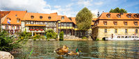 Bamberg on the banks of the Regnitz