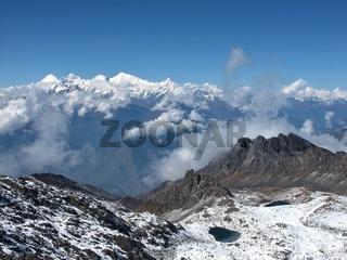 View From Surya Peak, 5145 M Altitude