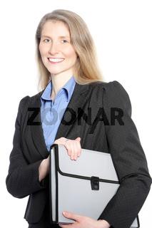 Mid aged businesswoman