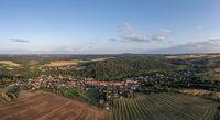Luftbildaufnahmen aus Güntersberge im Harz