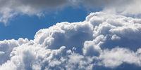 Details einer Cumulus- oder Haufenwolke