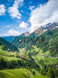 Passeiertal, Südtirol, Italien.