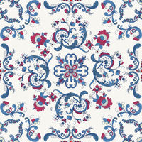 Rosemaling vector pattern 34.eps