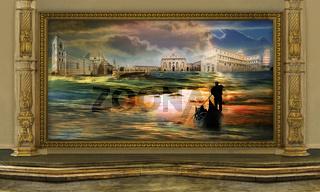 Quadro nel museo del surrealismo