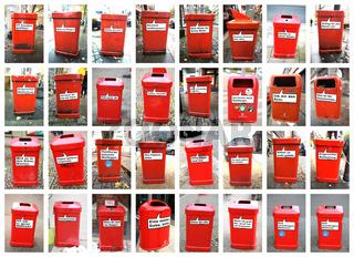 Mülleimer als Stadtmarketing