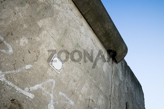 Sign at the berlin wall
