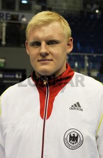 deutscher Handballer Patrick Wiencek THW Kiel DHB HBL DKB Handball-Bundesliga Saison 2012-13