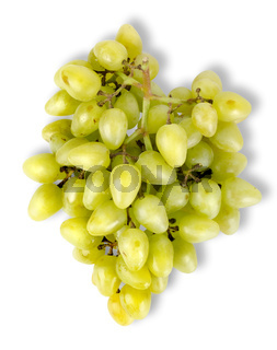 Grapes top view