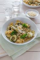 Pasta mit Zucchini