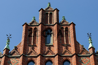 Hausfassaden 002. Flensburg. Deutschland