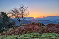 Sonnenaufgang im Snowdonia National Park