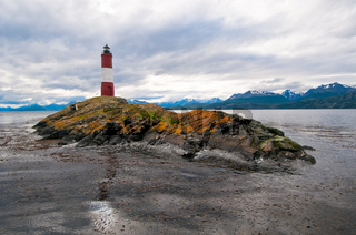 Les Eclaireurs lighthouse, Beagle channel, Argentina