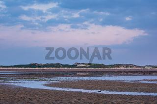 Morgens im Wattenmeer auf der Insel Amrum
