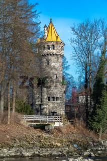 Mutterturm in Landsberg am Lech, Bayern, Deutschland