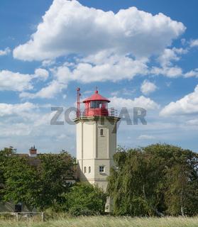 Leuchtturm in Westermarkelsdorf,Fehmarn,Ostsee,Deutschland