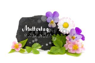 Blumengruß Muttertag 2021