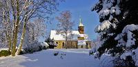 Belsener Kapelle/Kirche im Winter
