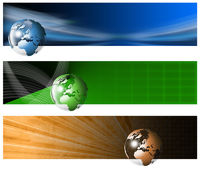 Three Technological Banner