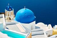 Church in Santorini in Greece