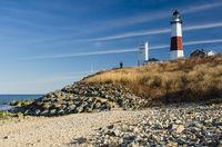 Montauk Leuchtturm, Montauk Point Light, Long Island, New York, USA