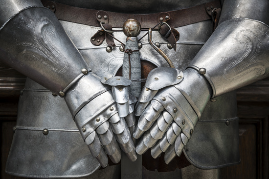 Detail knight armor