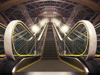 Night escalator