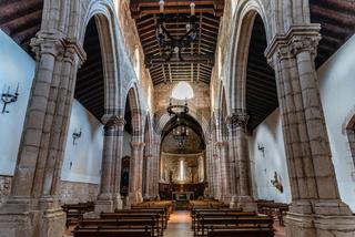 Interior view of the Church of Saint Philip in Brihuega